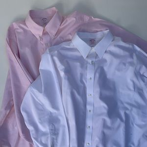 Brooks Brothers Button Front Long Sleeve Shirt Loy